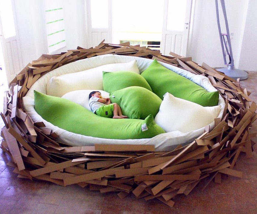 The Bird S Nest Bed Dudeiwantthat Com