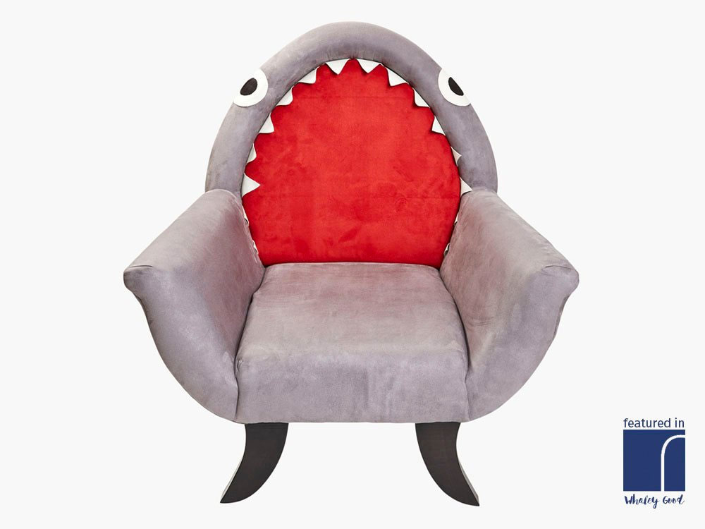 The Great Grey Shark Chair Dudeiwantthat Com