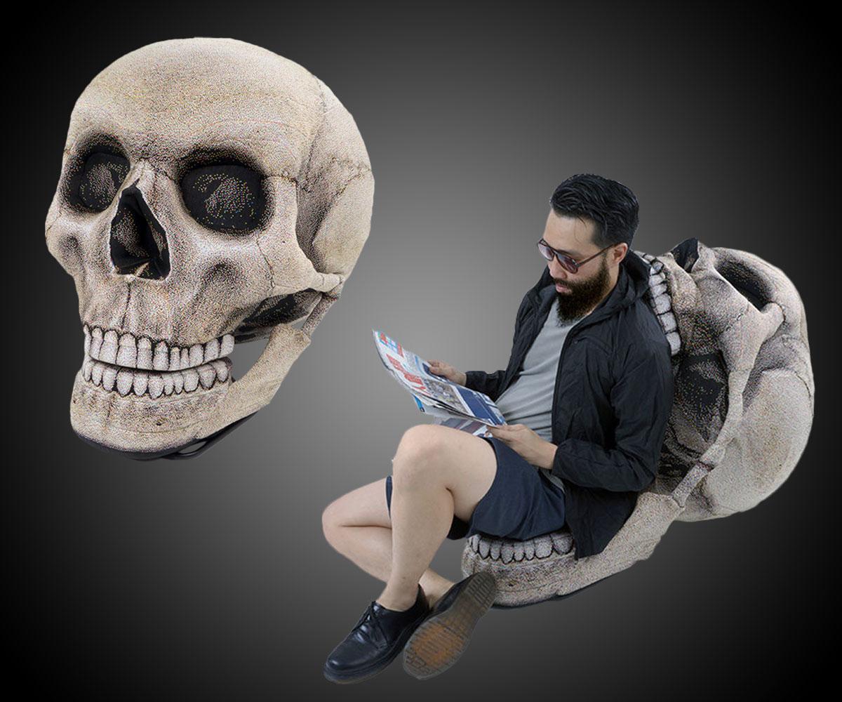 Black skull chair - The Skull Chair