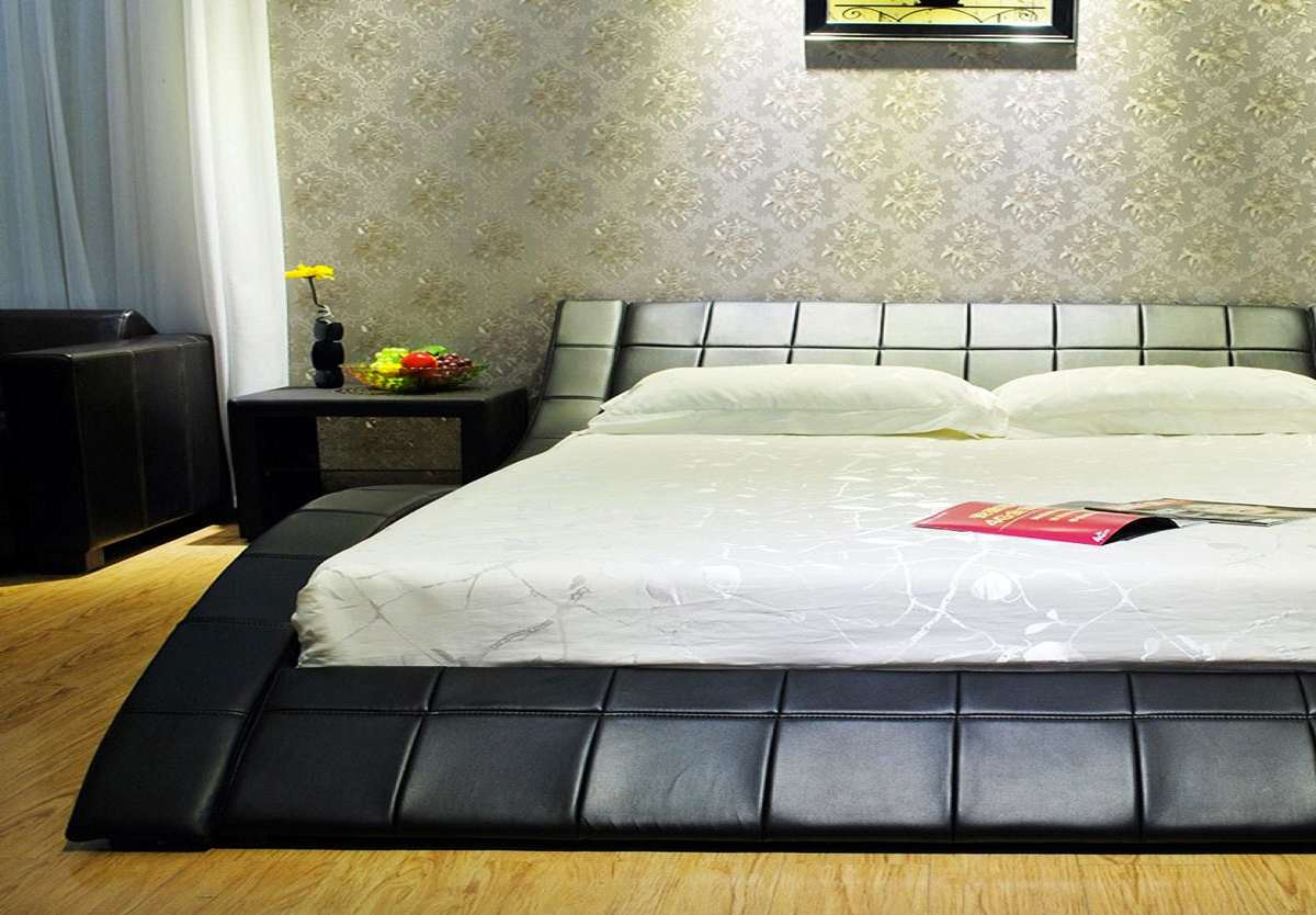 Contemporary Queen Bed Frame