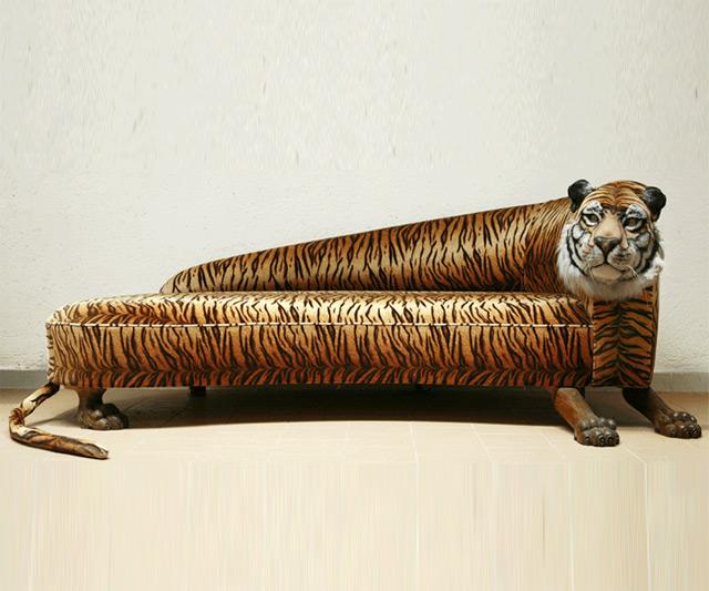 Tiger Sofa by Rodolfo Rocchetti