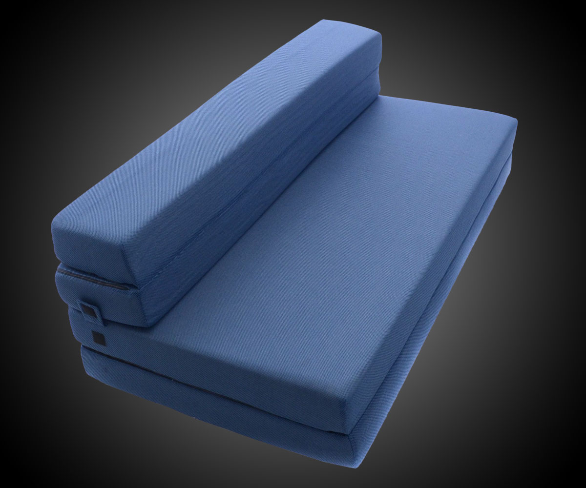 Tri Fold Foam Folding Mattress Amp Sofa Bed Dudeiwantthat Com