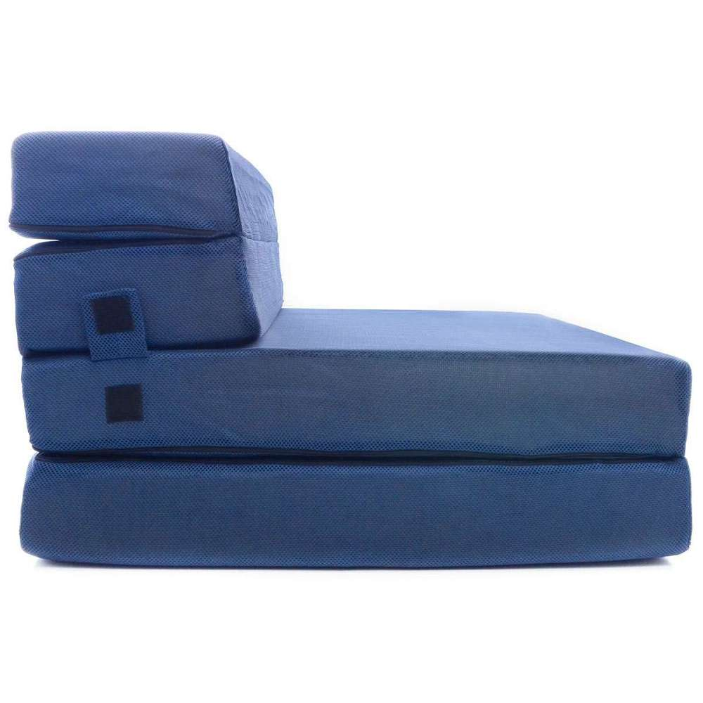 Tri Fold Foam Folding Mattress Sofa Bed