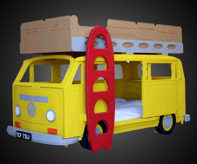 vw camper bunk bed | dudeiwantthat