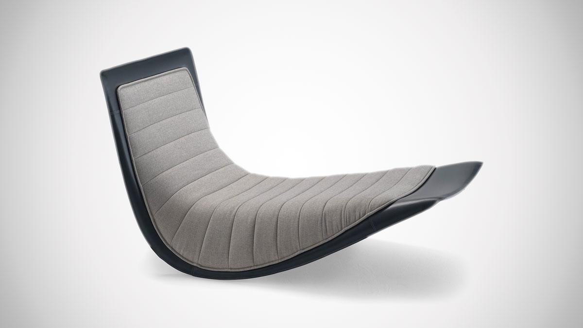 Zanotta Rocking Lounge Chair
