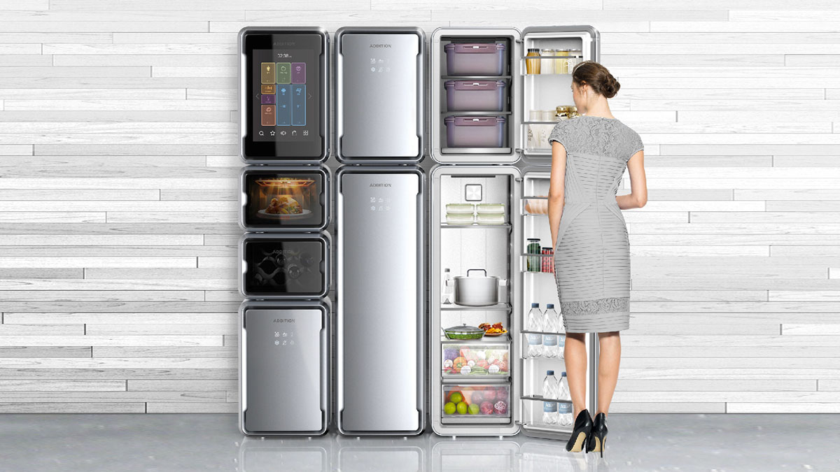Addition Modular Refrigerator Dudeiwantthat Com