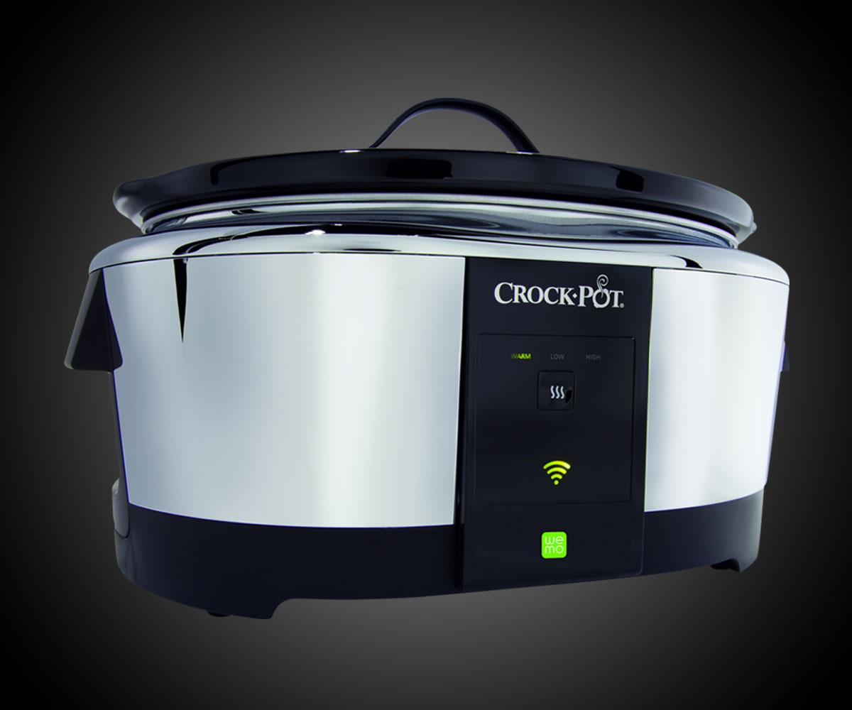 App-Controlled Crock-Pot Slow Cooker | DudeIWantThat.com