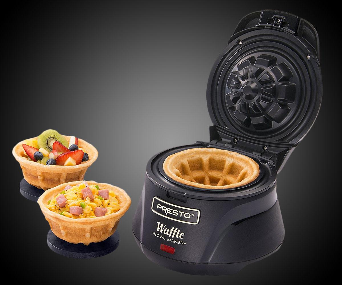 Belgian Bowl Waffle Maker Dudeiwantthat Com