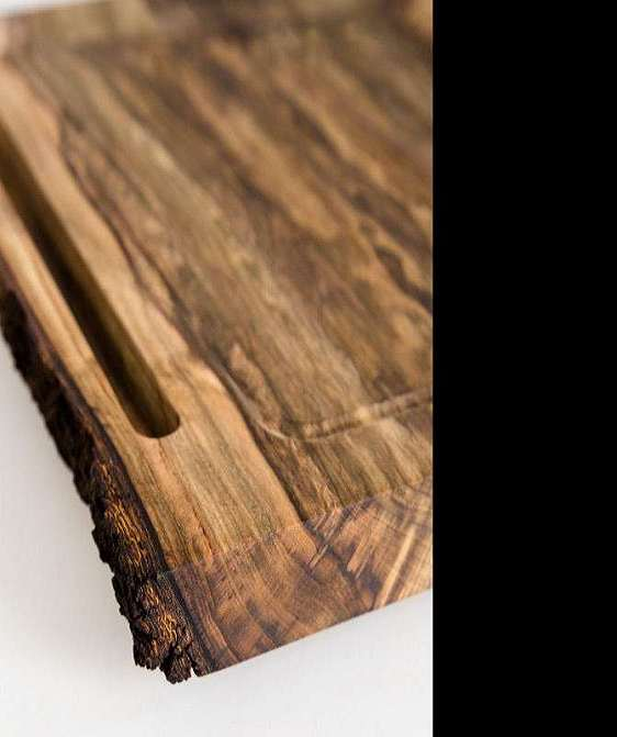 Big chop wood cutting board stand - The big chop cutting board ...