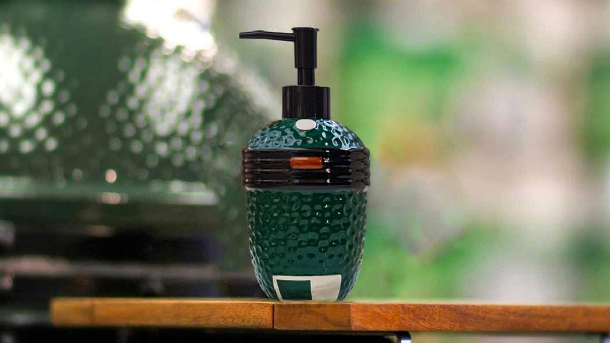 Big Green Egg Soap Dispenser
