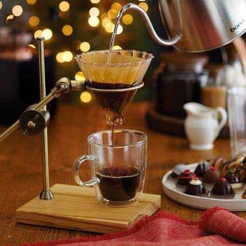 Brass Pour Over Drip Coffee Maker Dudeiwantthat Com