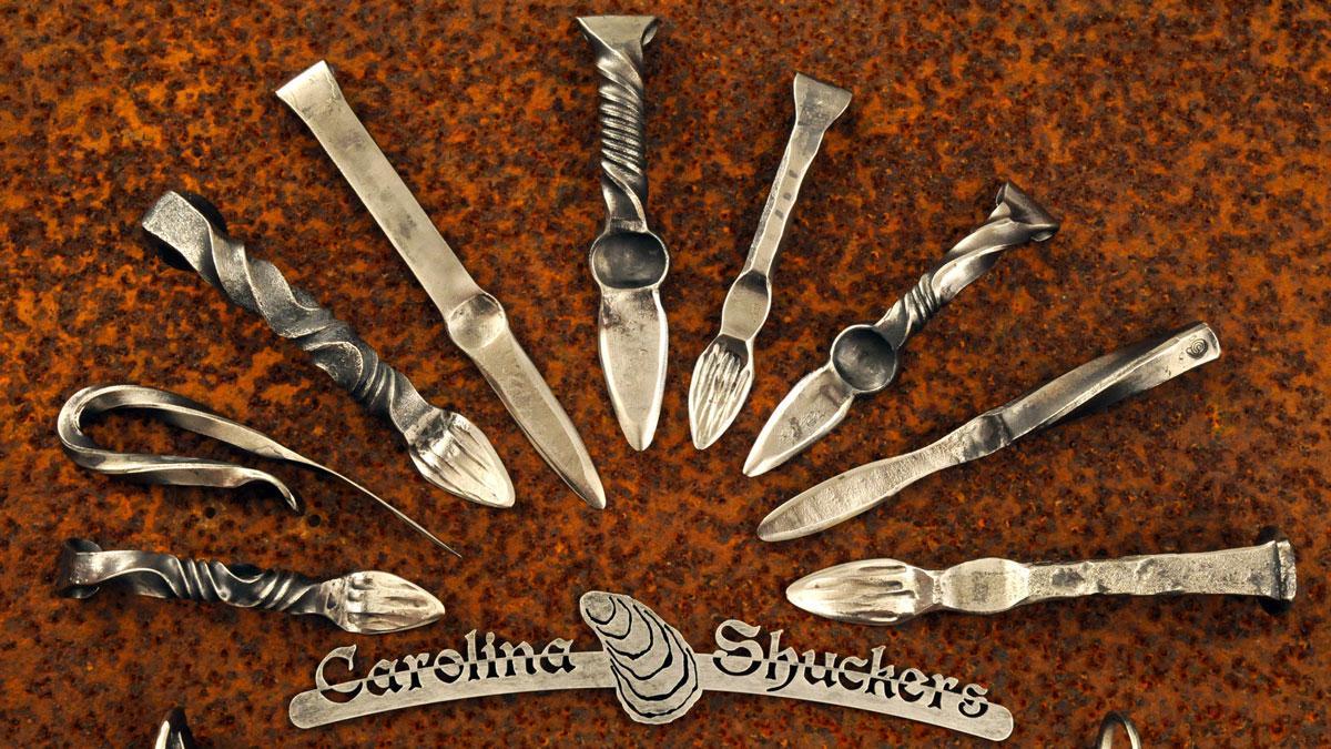 Carolina Shuckers Hand-Forged Kitchen Tools