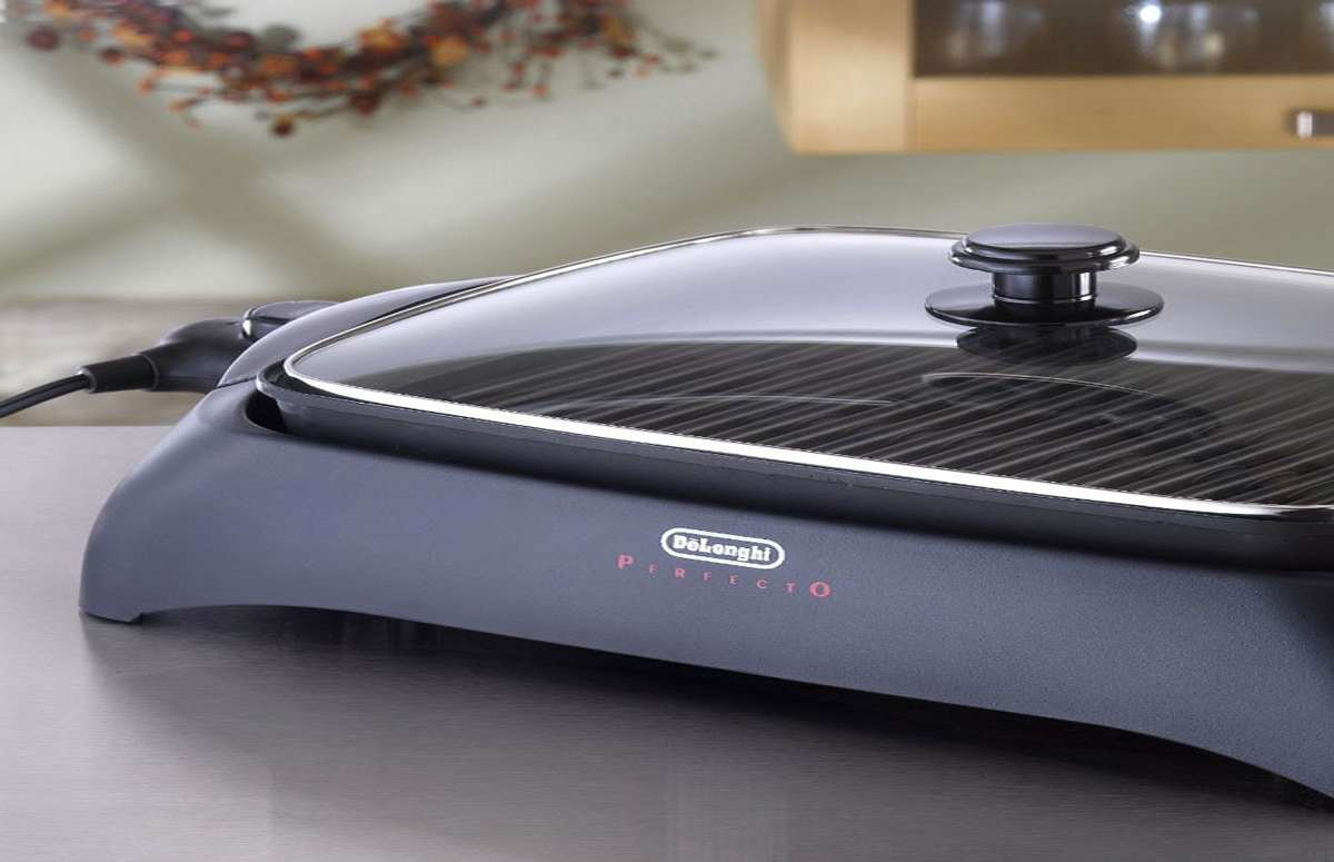 Delonghi Indoor Electric Grill ~ Delonghi perfecto indoor grill dudeiwantthat