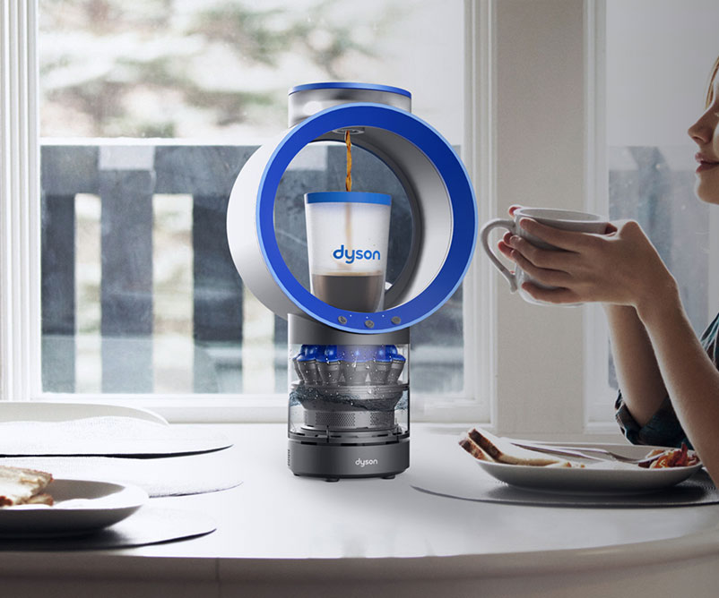 Dyson Cyclone Belt Coffee Machine Dudeiwantthat Com
