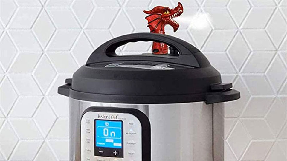 Fire-Breathing Dragon Steam Release Diverter