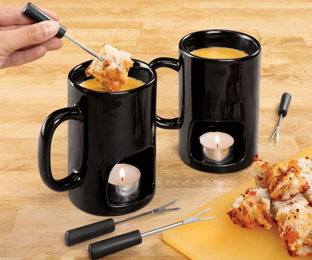 Fondue Mugs