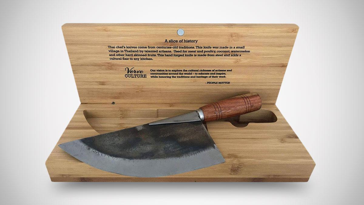 Forged Steel Thai Moon Knife