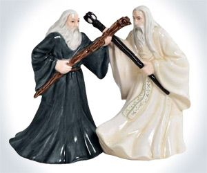 Gandalf vs. Saruman Salt & Pepper Shakers