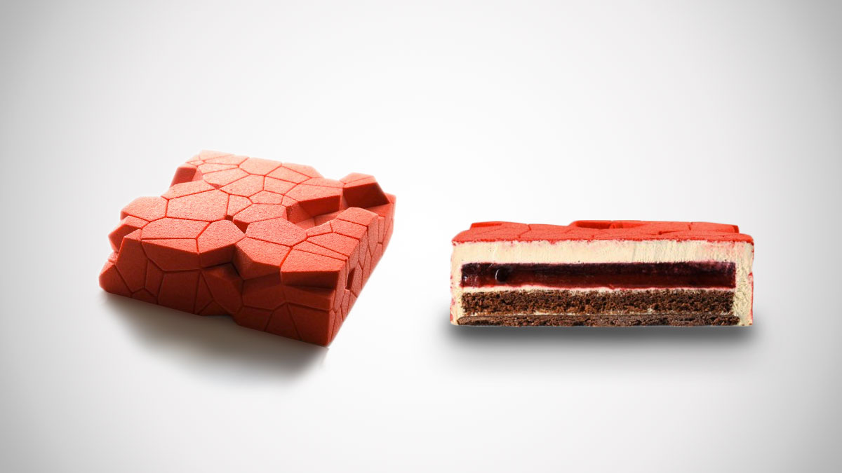 Geometric Cake Molds