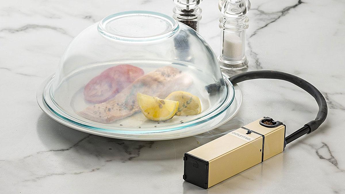 Gourmia Portable Infusion Smoker