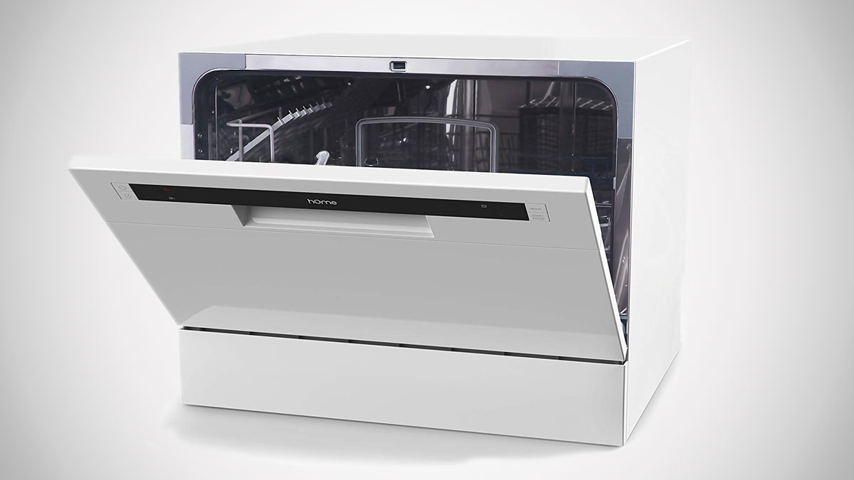 hOmeLabs Portable Countertop Dishwasher