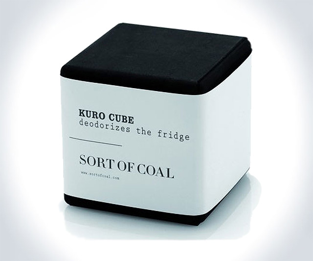 Kuro Cube - Charcoal Fridge Deodorizer