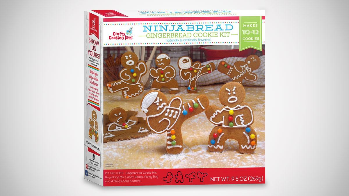 Ninjabread Man Cookie Kit