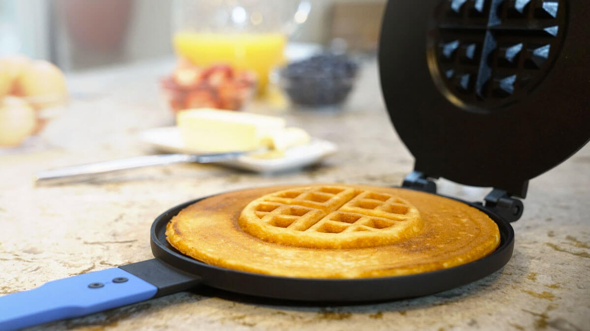 PanWaffle - Hybrid Pancake/Waffle Maker
