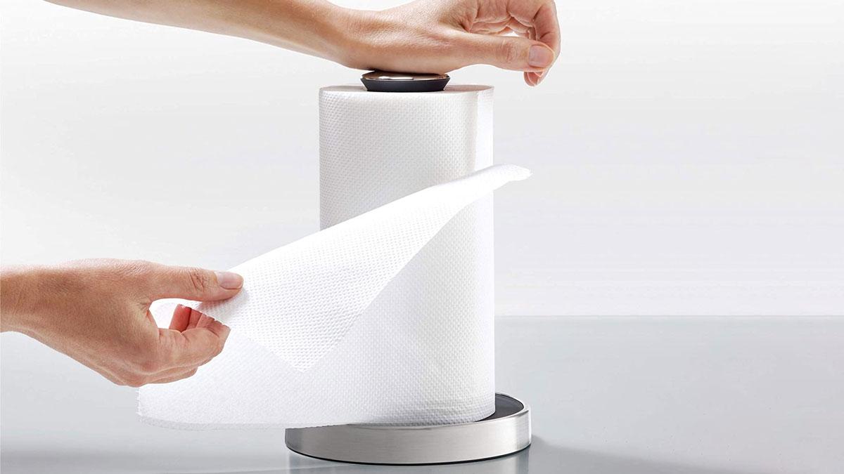Push & Tear Easy-Tear Paper Towel Holder