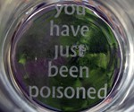 You Have Just Been Poisoned Pint Glass