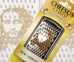 Cheesus Christ Cheese Grater