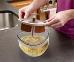 Securing Lid on Self-Stirring Microwave Bowl