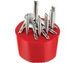 Five Finger Fillet Knife Set - Red