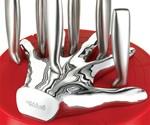 Five Finger Fillet Knife Set - Closeup