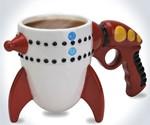 Ray Gun Rocket Mug