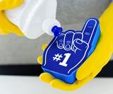 #1 Dish Washer Foam Finger Kitchen Sponge