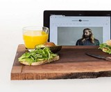 Big Chop Wood Cutting Board & Stand