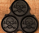 Cast Iron Pirate Pancake Griddle