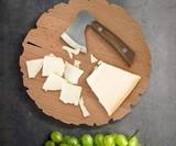 Cheese Log Board & Knife Set
