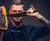 Dalstrong Shadow Black Series Kitchen Knives