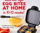 Dash Deluxe Sous Vide-Style Egg Bite Maker