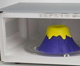 Eruption Disruption Volcano Microwave Cleaner
