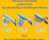 Handheld Food Bag Heat Sealer