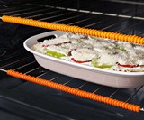 Heat-Resistant Oven Rack Guards