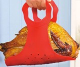 Heat-Resistant Silicone Turkey Lifter