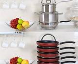 Height Adjustable Pot & Pan Organizer Rack