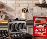 Johnsonville Sizzling Sausage Grill Plus