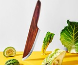 Lignum Skid Wood Chef's Knife