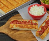 New England Hot Dog Bun Pan