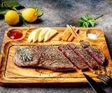 Olive Wood Steak Plate
